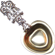 Ornate George Shiebler Sterling Silver Bon Bon Spoon