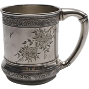 Aesthetic Movement Gorham Sterling Silver Mug