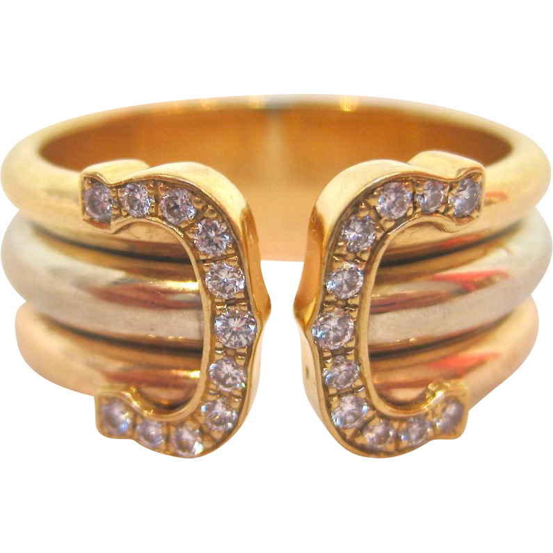 Cartier Double C Ring