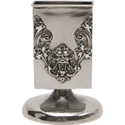 Willian Kerr Sterling Silver Art Nouveau Match Holder