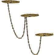 14kt Gold and Seed Pearl Lingerie Pin, Circa 1910