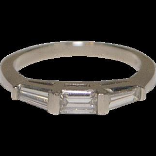 Lovely Platinum and Diamond Ring