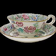 Regency Era, Elegant Spode Felspar Japanese Blossom Tea Cup