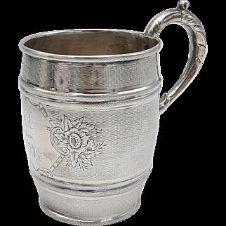 Tiffany & Co Antique Coin Silver Goblet