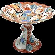 Meiji-Era Japanese Porcelain Tazza