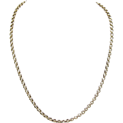 1920's English 9KT Gold Chain
