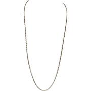 Vintage English 9KT Yellow Gold Chain