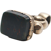 Georgian 12KT Bloodstone Watch Fob Charm