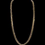 Fine Italian 18KT Gold Snake Chain