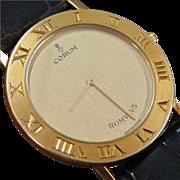 Corum Romvlvs 18 K Yellow Gold Watch