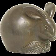 Authentic Just Andersen Rabbit Figural