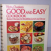 1st Edition, 1971 First Printing  Betty Crocker's Good and Easy Cookbook