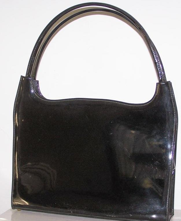 Vintage Lennox  Patent Leather  Handbag