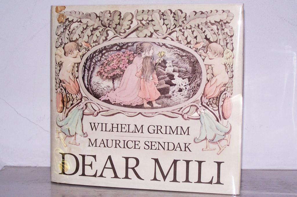1st Edition Dear Mili  Maurice Sendak Grimm Fairy Tale 1988