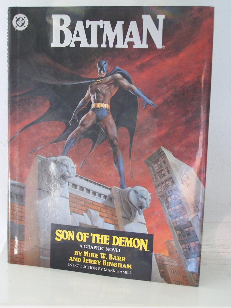 1st Edition Batman Son of the Demon Hard Cover Dust Jacket