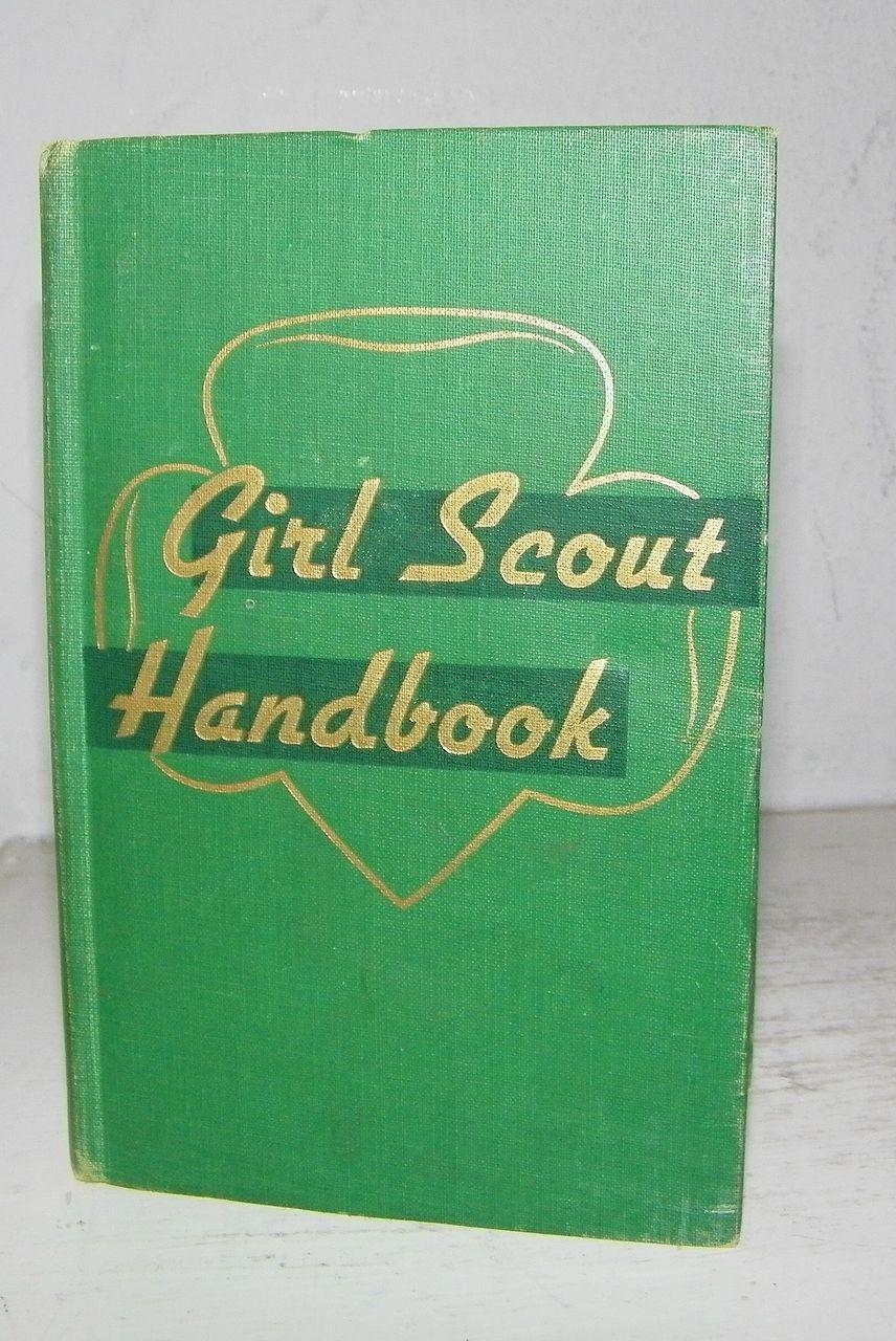 Girl Scout Handbook 1st Impression 1947
