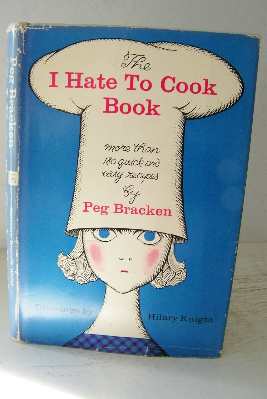 I Hate To Cook Cook Book 1st Edition Signed by Author 1960