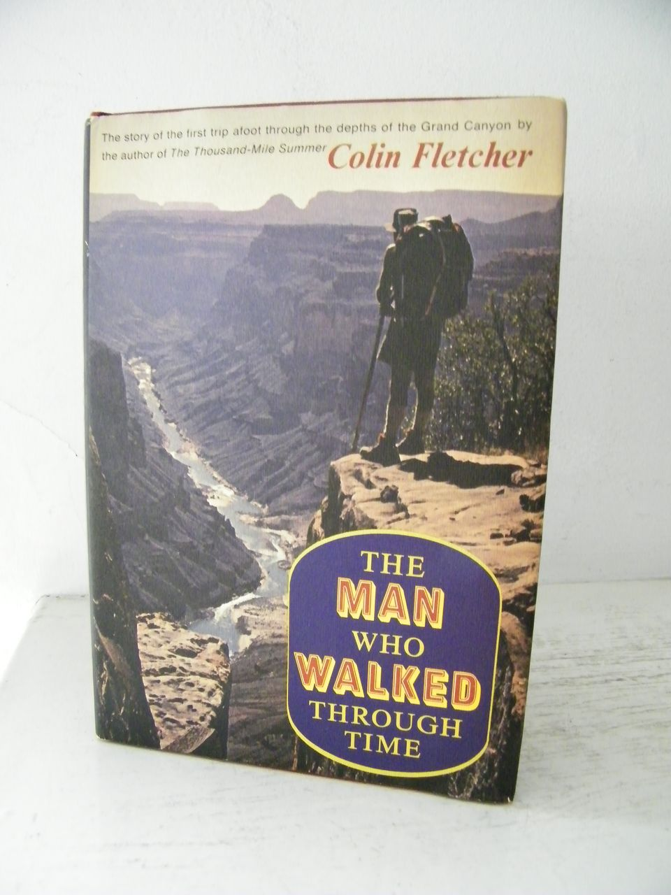 a rhetorical analysis of colin fletchers story the man who walked through time Information about the open-access article 'character analysis through politeness in a good man is hard to find by flannery o time from submission to.