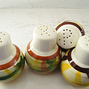 2 Sets of Vernon Kilns Salt & Pepper Shakers