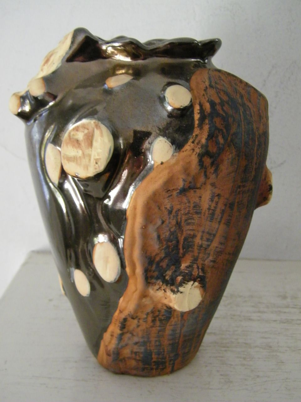 30% OFF Ceramic Vase Natural Tree Motif