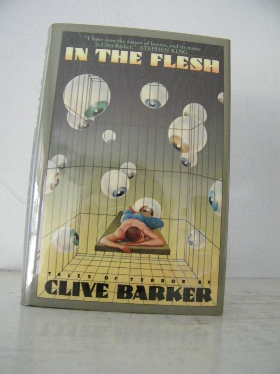 "1st Edition ""In The Flesh"" Clive Barker 1986"