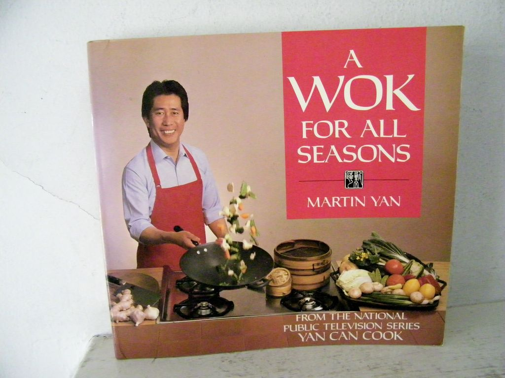 Martin Yan Cook Book (Yan Can Cook) 1988 1st Edition