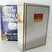 The Song of Bernadette 1st Edition