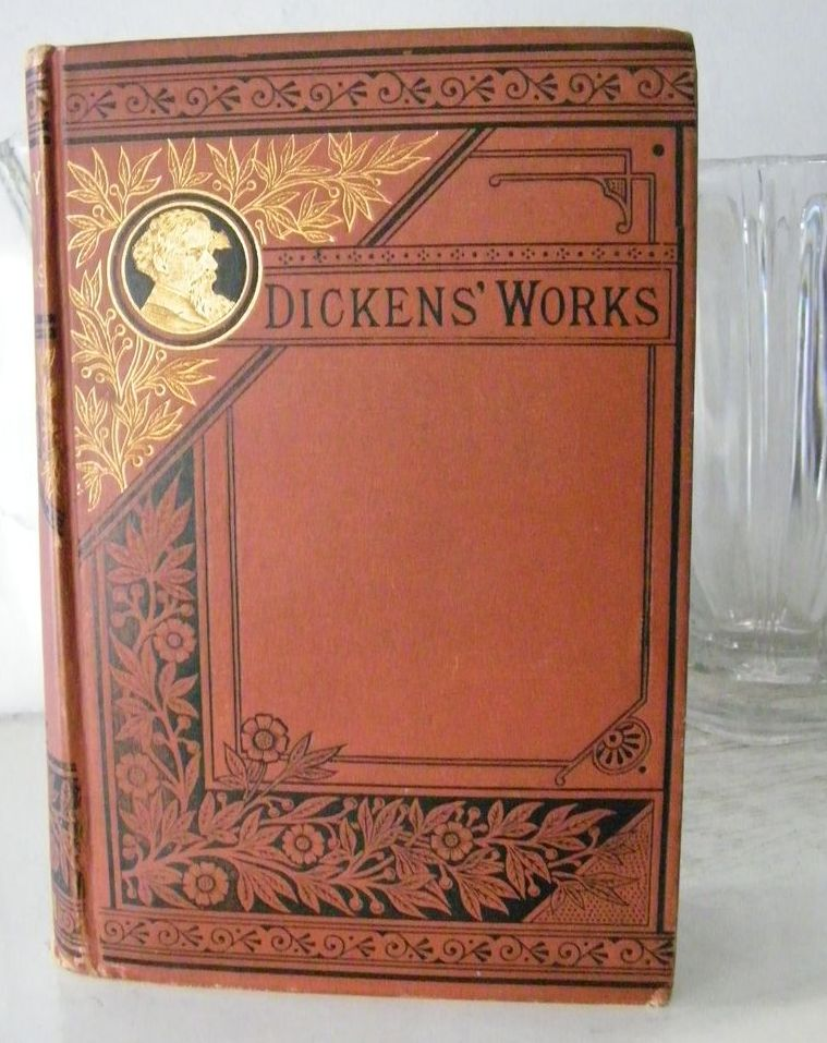 "Charles Dickens  "" A Childs History "" decorative book 1883"