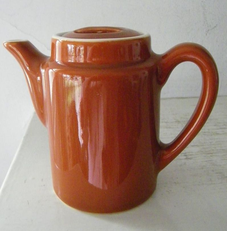 Coors China Single Serve Tea Pot Restaurant Ware