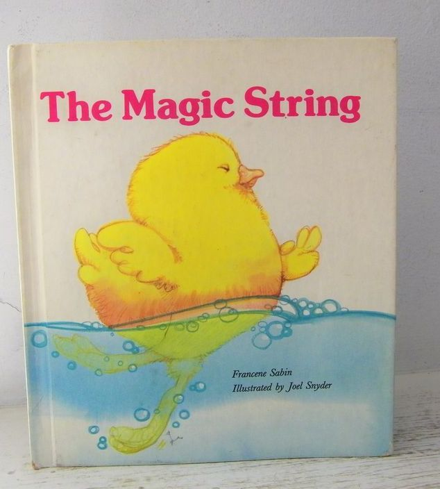 The Magic String 1981 First Edition Scarce