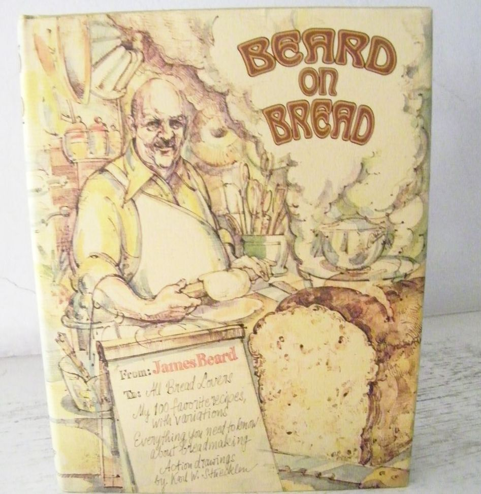 Beard on Bread 1977 Hard Cover with Dust Jacket