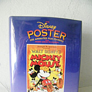 Book of Disney Posters 1st Edition * OVER 100 Posters, Mickey Mouse and more!