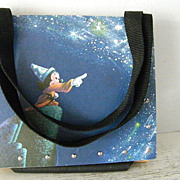 Mickey Mouse Fantasia Vintage LP Record Purse