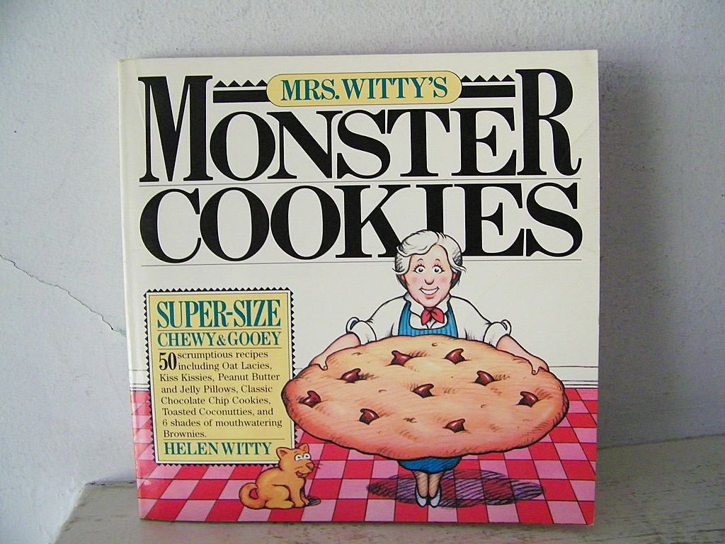 Monster Cookies Cook Book 1st Edition