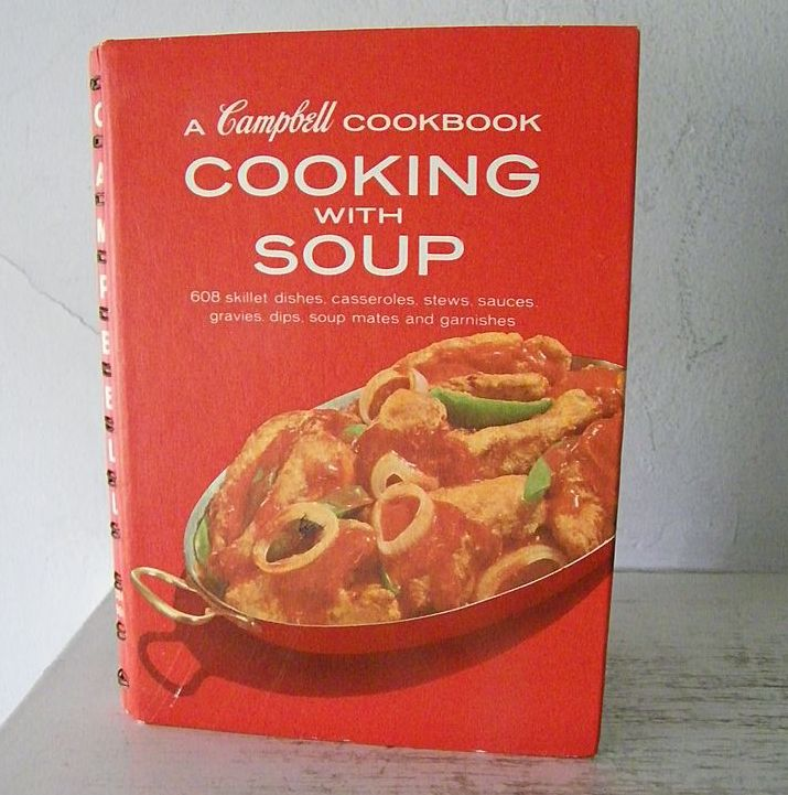 Campbell Soup Cook Book  1972 mint!