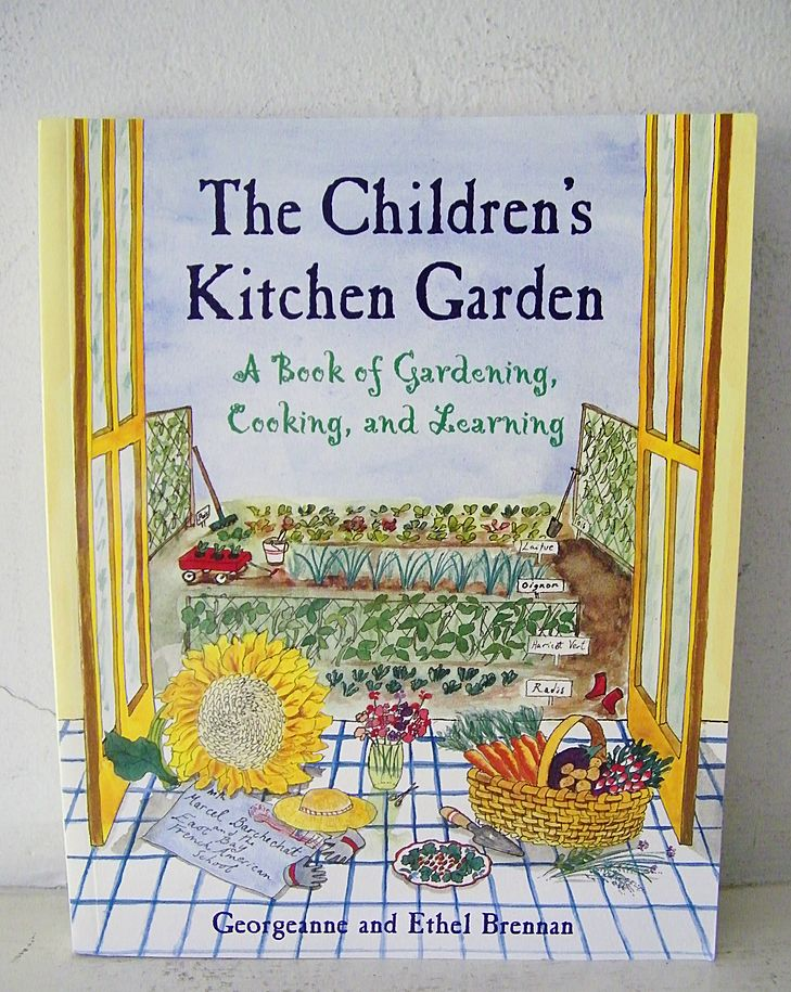 The Children's Kitchen Garden signed 1st edition
