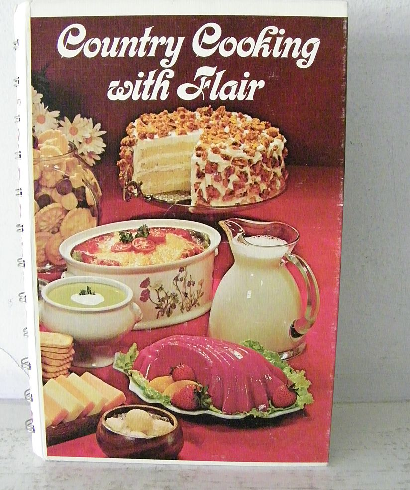 country cook kitchen country cooking with flair cook book 1975 from 2695