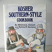 Kosher Southern Style Cookbook   Signed 1st Edition