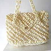 Pacific Island Handbag made entirely of seashells