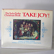 Signed 1st Edition The Tasha Tudor Christmas Book TAKE JOY Excellent Condition