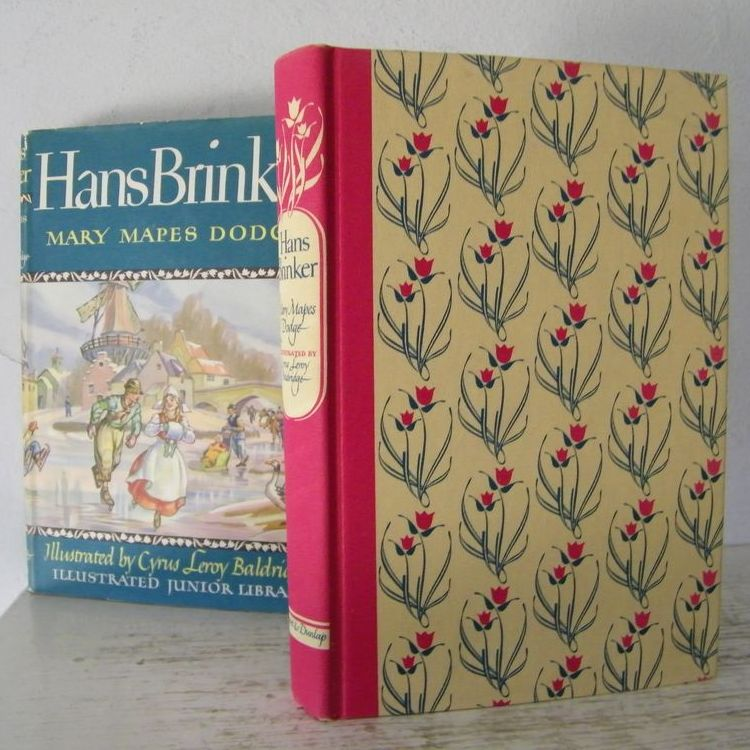 Hans Brinker Illustrated 1945 Illustrated Junior Library edition