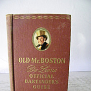 Old Mr. Boston DeLuxe Official Bartender's Guide  1946