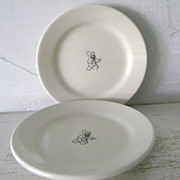 2 Il Fornaio  Homer Laughlin Restaurantware Plates 5 1/2""