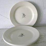"2 Il Fornaio  Homer Laughlin Restaurantware Plates 5 1/2"""
