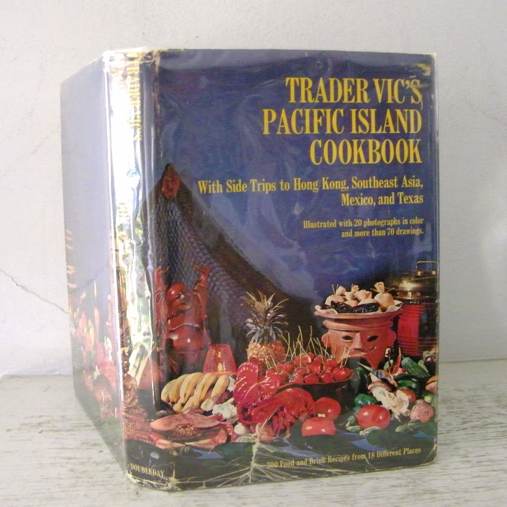 Trader Vic's Pacific Island Cookbook 1st Edition  20 photos