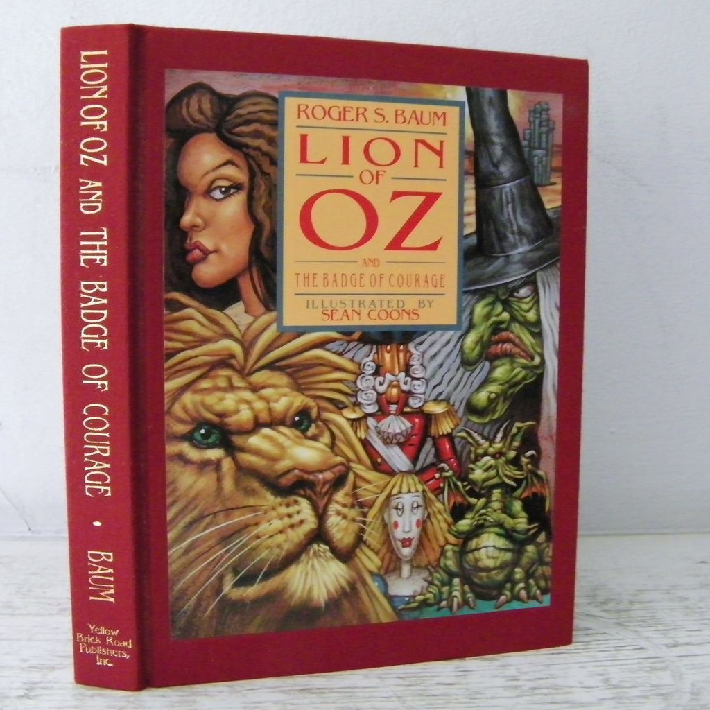 Lion of Oz signed by author