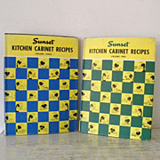 Sunset Kitchen Cabinet Recipes Volume 2 & Volume 3