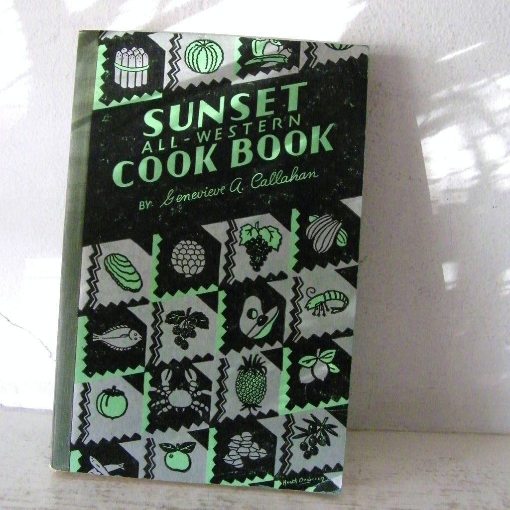 Sunset All-Western Cook Book 1936
