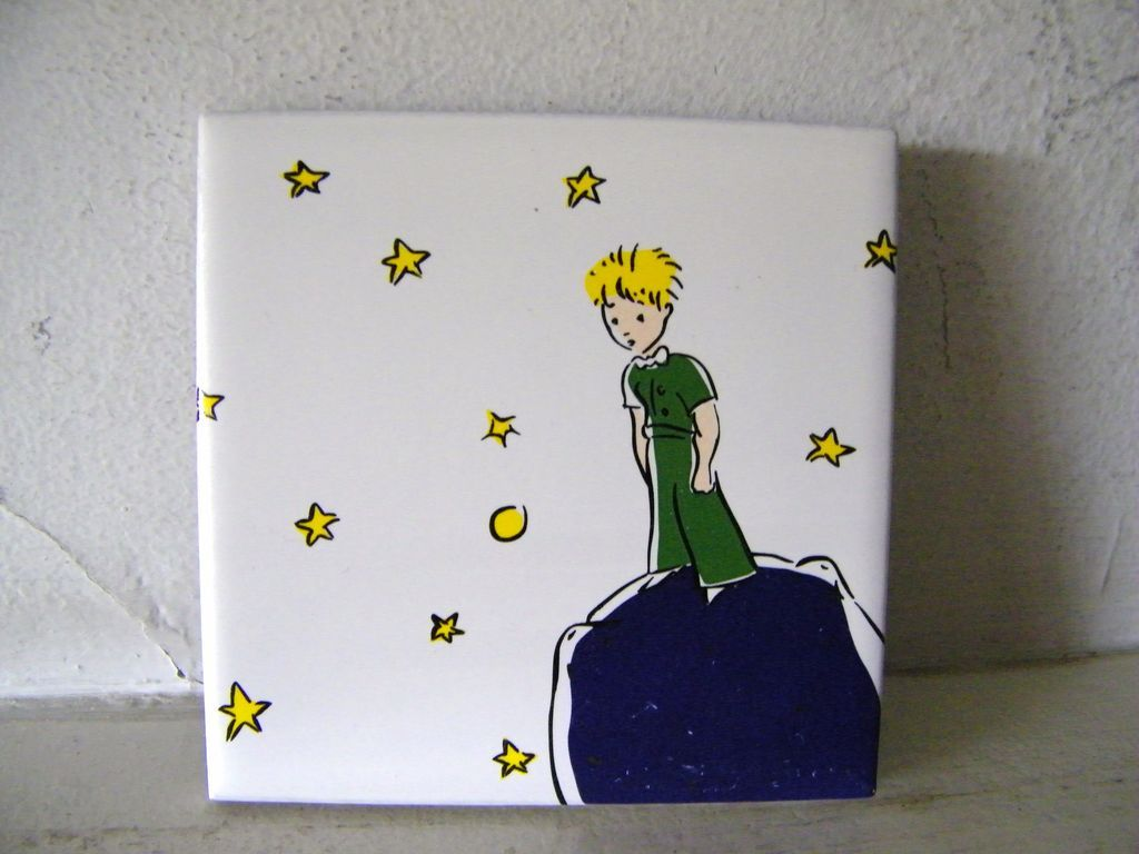 "French Ceramic Tile ""The Little Prince"""