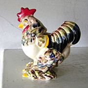 Large Ceramic Rooster Planter Pot